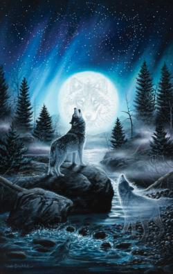 Call of the Pack Wolves Jigsaw Puzzle