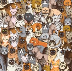 World's Most Difficult Jigsaw Puzzle - Cats Cats Impossible Puzzle