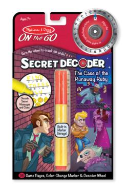 Case of the Runaway Ruby Activity Book and Stickers