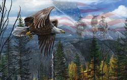 May Freedom Fly Forever Military Jigsaw Puzzle