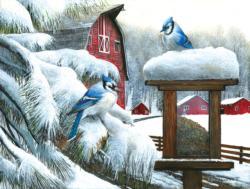 Blue Jays Snow Large Piece