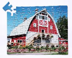 Barn (63pc) - Scratch and Dent Dementia / Alzheimer's Large Piece