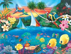 Secret Lagoon (Collector) Fish Jigsaw Puzzle