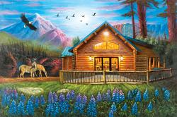 Cozy Cabin (Collector) Outdoors Jigsaw Puzzle