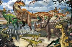 The Dinosaur King Dinosaurs Jigsaw Puzzle