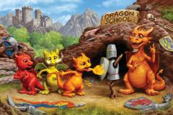 Dragon School Fantasy Jigsaw Puzzle