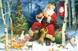 Santa's Pets Baby Animals Children's Puzzles