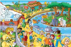 Afternoon at the Zoo Other Animals Jigsaw Puzzle