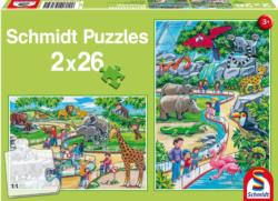 A Day at the Zoo Jungle Animals Multi-Pack