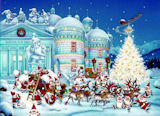 Toy Factory Christmas Jigsaw Puzzle