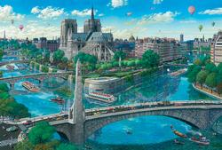 Notre Dame Cities Jigsaw Puzzle