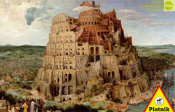 Tower of Babel Renaissance Jigsaw Puzzle