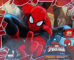 Puzzle in Tin - Spider Man 48pc Cartoons Jigsaw Puzzle