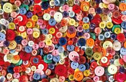 Buttons Crafts & Textile Arts Jigsaw Puzzle