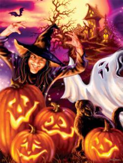 Happy Haunts Halloween Jigsaw Puzzle
