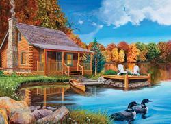 Loon Lake Lakes / Rivers / Streams Jigsaw Puzzle