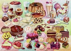 Yum! Food and Drink Jigsaw Puzzle