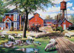 Farmyard Companions Farm Animals Jigsaw Puzzle