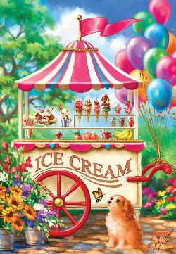 Ice Cream Cart Sweets Jigsaw Puzzle
