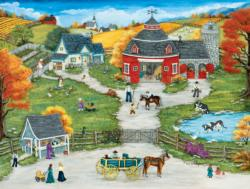 Grandpa's Barn Outdoors Jigsaw Puzzle