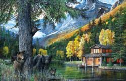 Lakeside Adventure Lakes / Rivers / Streams Jigsaw Puzzle