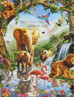 Jungle Lake (Inspirations) Wildlife Jigsaw Puzzle