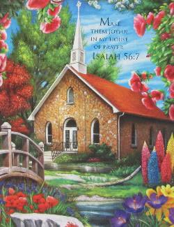 Serenity Church Churches Jigsaw Puzzle