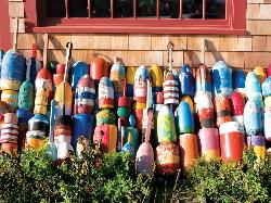 Colorful Buoys Nautical Jigsaw Puzzle
