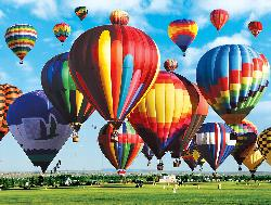 Albuquerque International Balloon Fiesta (Colorluxe) Balloons Jigsaw Puzzle