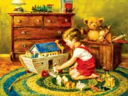 Playtime Noah's Ark Domestic Scene Jigsaw Puzzle