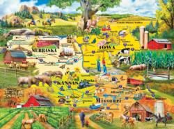 The Heartland Maps Jigsaw Puzzle