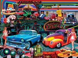 Flashbacks Nostalgic / Retro Jigsaw Puzzle