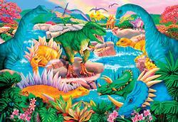 Prehistoric Waterfall Dinosaurs Children's Puzzles