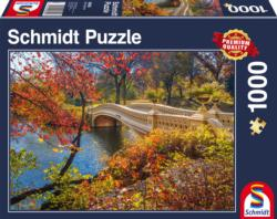 Walk in Central Park New York City Landscape Jigsaw Puzzle