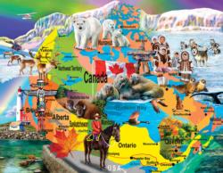 Canadian Horizons Canada Jigsaw Puzzle
