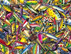 My Favorite Lures Fishing Jigsaw Puzzle