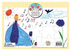Create Your Own Puzzle (Single) Educational Arts and Crafts