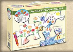 Create Your Own Floor Puzzle Crafts & Textile Arts Children's Puzzles