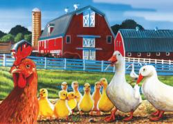 Dwight's Ducks Chickens & Roosters Children's Puzzles