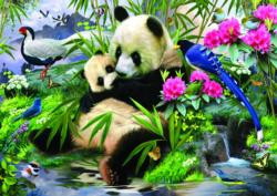 Pandas Baby Animals Jigsaw Puzzle