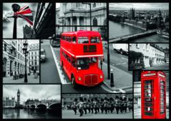 Montage London Collage Jigsaw Puzzle