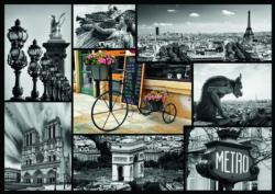 Montage Paris Collage Jigsaw Puzzle