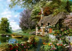 Charming Nook Cottage / Cabin Jigsaw Puzzle