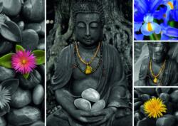 Montage Buddah Collage Jigsaw Puzzle