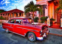 Chevrolet Bel Air Oldtimer, Kuba Photography Jigsaw Puzzle