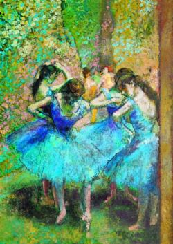 Dancers in Blue Post Impressionism Jigsaw Puzzle