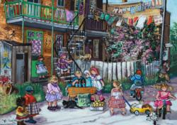 Alley Fun Cities Jigsaw Puzzle