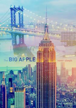 New York at Dawn Cities Jigsaw Puzzle