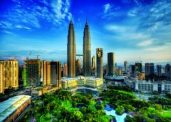 Petronas Twin Towers, Malaysia Photography Jigsaw Puzzle