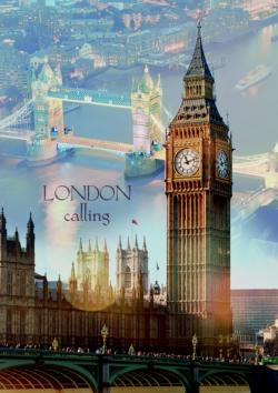 London at Dawn Skyline / Cityscape Jigsaw Puzzle